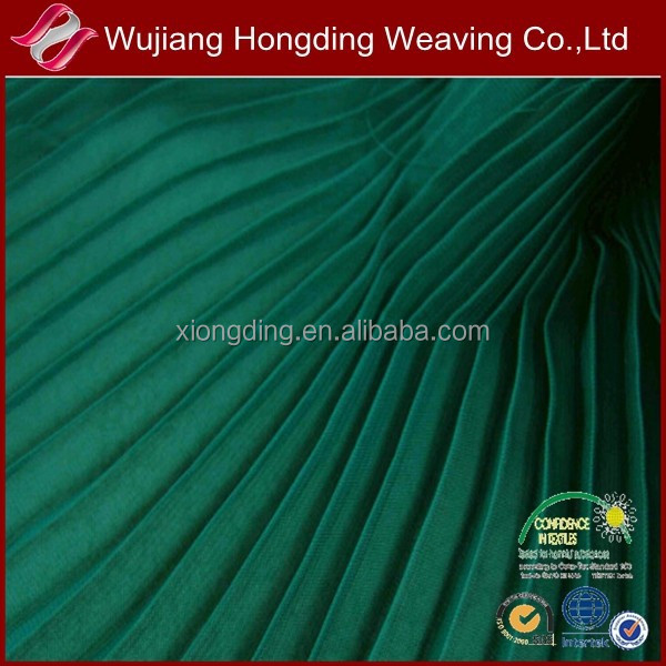 2015 new polyester crinkle chiffon fabric for fasional garment