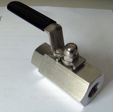 parker instrument 2way female-female ball valve
