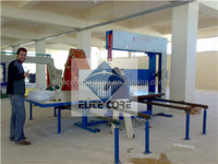 PU Foam Vertical Cutter Machinery By Hands/Cutter Machinery For Sponge