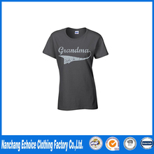 Slim Fit Wholesale Blank T Shirts Women's Grandma Tee T-shirt Vintage Scratched Funny Shirts Classics T Shirt Design