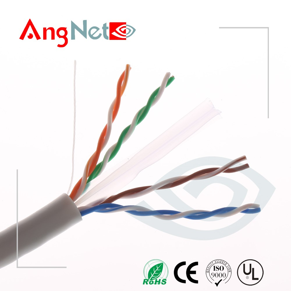 Factory price Solid cat6 lan cable cable cat.6 strand