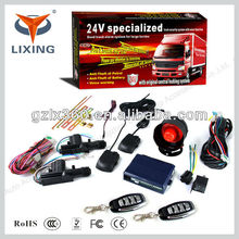 Lixing 1-Way Security Car Auto Vehicle Alarm Protection System Remote Control with Ignition Immobilize