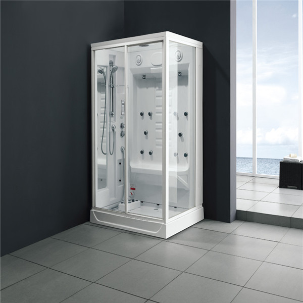 Portable Shower Room : Rectangle acrylic portable steam shower room m buy