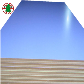 4*8ft MDF panel melamine faced mdf veneer MDF board for furniture