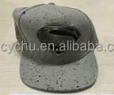 Irregular black spots base with superman markers snapback cap