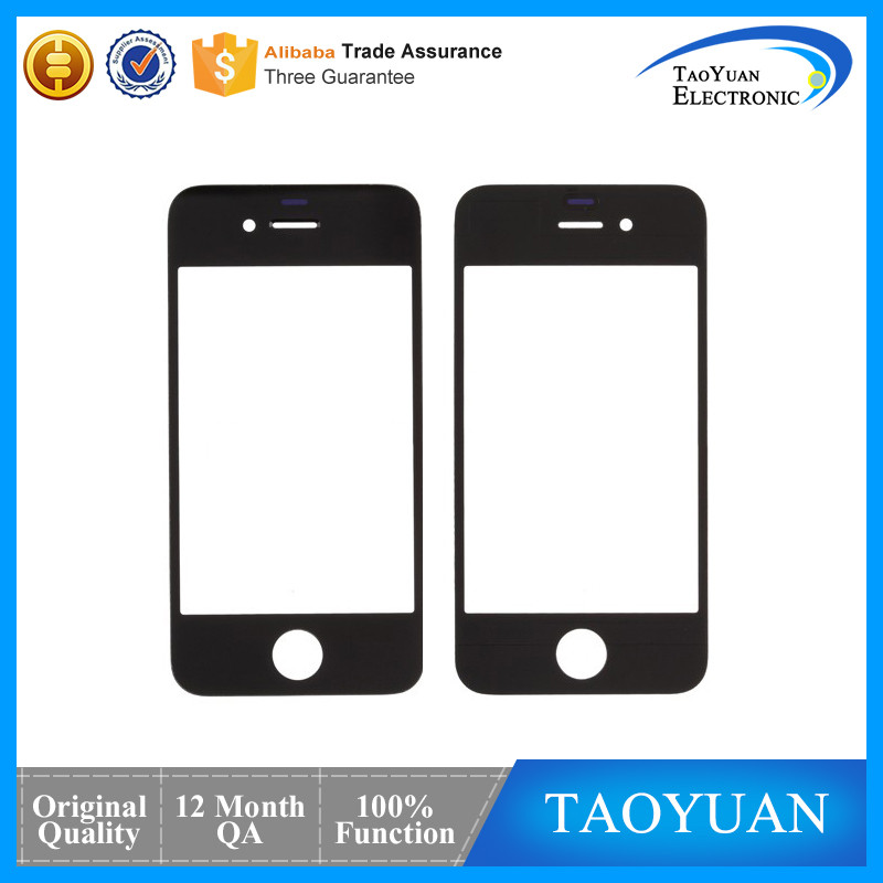 High Quality Replacement Front Glass For iPhone 4,Grade AAA for iPhone 4 Glass
