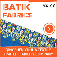 Cotton batik print fabric textile factory in turkey