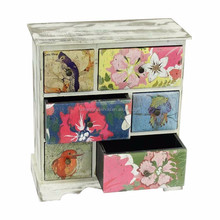 Cheap cosmetic wooden mini storage cabinet with drawer