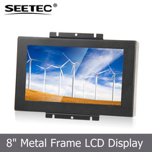 "8"" tft display 1080p led panel 16:9 hdmi tablet touch screen lcd monitor for bus"