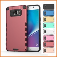 Factory shockproof back cover case for samsung note 5 n9200