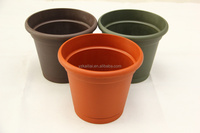 new products for 2016 decorative garden stone flower pot mini plastic flower pot flower pot inserts
