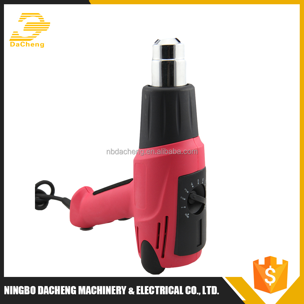 High cost performance cool/hot air adjustable temperature hot air gun