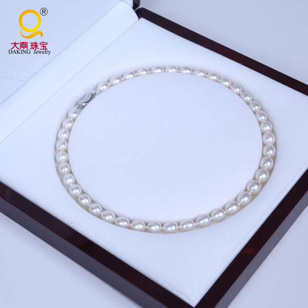 Fashion necklace jewelry pearl jewelry real pearl necklace price