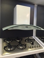 2016 White color chinese kitchen exhaust range hood