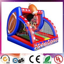 2014 EN14960 manufacturer mini inflatable rugby goal post