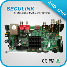 4CH 1080P AHD DVR boards h.264 dvr motherboard
