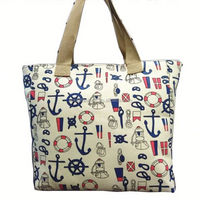 Promotion handled canvas tote bags style canvas tote bags peace sign printed bags wholesale