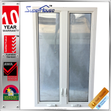 Australia standard aluminum frame insulated double glazing lowe veranda window
