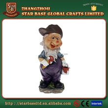 Resin painter custom design promotion gnome figures