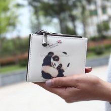 Wholesale Fashion Cartoon Animal Leather Girls Wallets