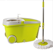 360 spin mop to easy portable with wheels