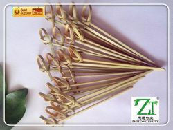 wholesale dried decorative artificial bamboo food picks For Plant