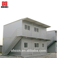 China Factory Hot Sale Prefabricated Luxury Light Steel Prefab Villa