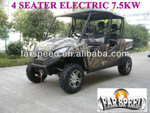 7.5KW Electric Utility Vehicle 4 Seater