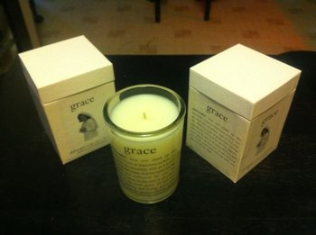 Amazing Grace Philosophy Candle