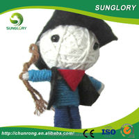 halloween item alibaba Hot China products wholesale cheap keychain voodoo dolls for promotion