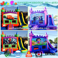 used commercial inflatable bouncers for sale,inflated moon bounce