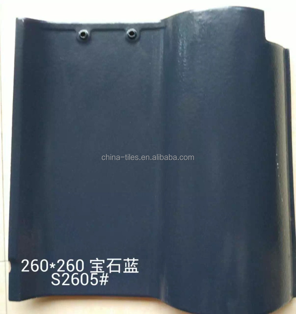 Clay Spanish Glazed Roofing Tile Price