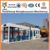 Automatic/Fully Auto QTJ10-15 Cement Hollow Block Bricks Making Machinery
