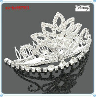 xs-hx867901 Glow Rhinestone Tiaras Crown, Fashion India Wedding Crown Tiara
