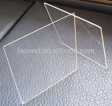 ceramic glass panel for oven, float transparent ceramic glass for fireplace door