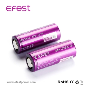 Wholesale Price IMR 26650 50A 4200MAH Big Mod Efest Rechargeable Battery