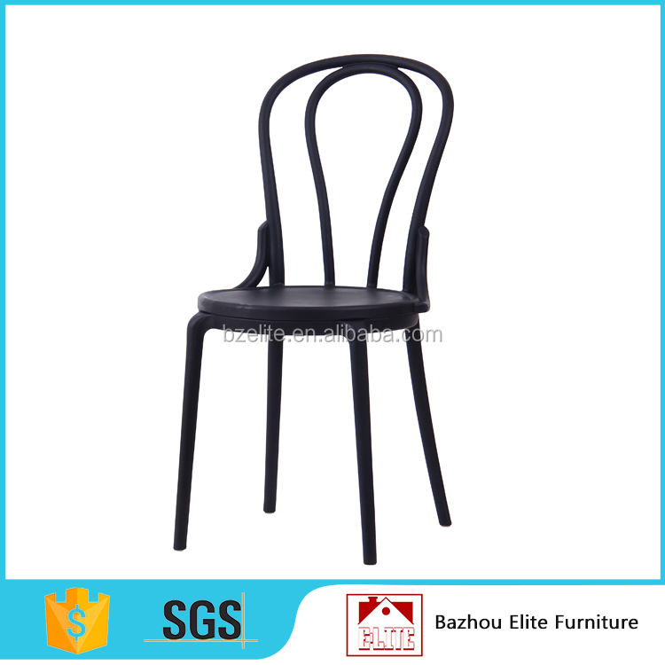 Wedding Party Event Furniture Unfolding Plastic Chair With PP Or PU Cushions Seat