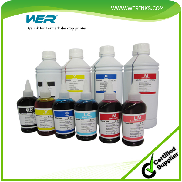 universal refill dye ink for lexmark desktop printer digital ink