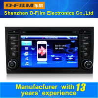 2din dvd player for car with GPS navigation,bluetooth,android car dvd player for audi A4,car dvd player manufacturer from China