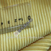 100% Polyester Knitted Short Hair wale strip Printed Corduroy Velvet Fabric for sofa
