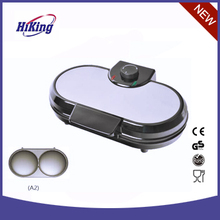 5.5 inch Electric Dual Waffle or Pancake MAKER