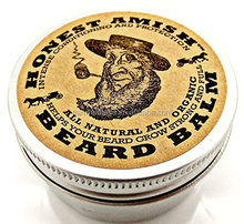 OEMHonest Amish Beard Balm Leave-in Conditioner - All Natural -Vegan Friendly Organic Oils and Butters