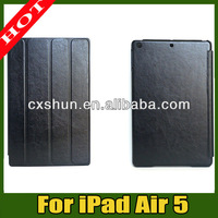 Wholesale For iPad 5 PU Leather Smart Case With Cover