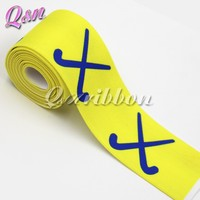 yellow elastic tape solid color elastic belt for girls headbands