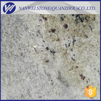 AAAA GRADE Prefab Polished Surface Finishing and india Granite Type kashmir white granite tiles stone cladding floor price