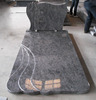 Bahama blue granite headstone for sale