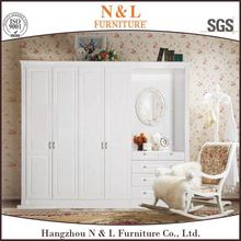 Top Sale Wooden Style Luxury Fair Price Furniture Wardrobe