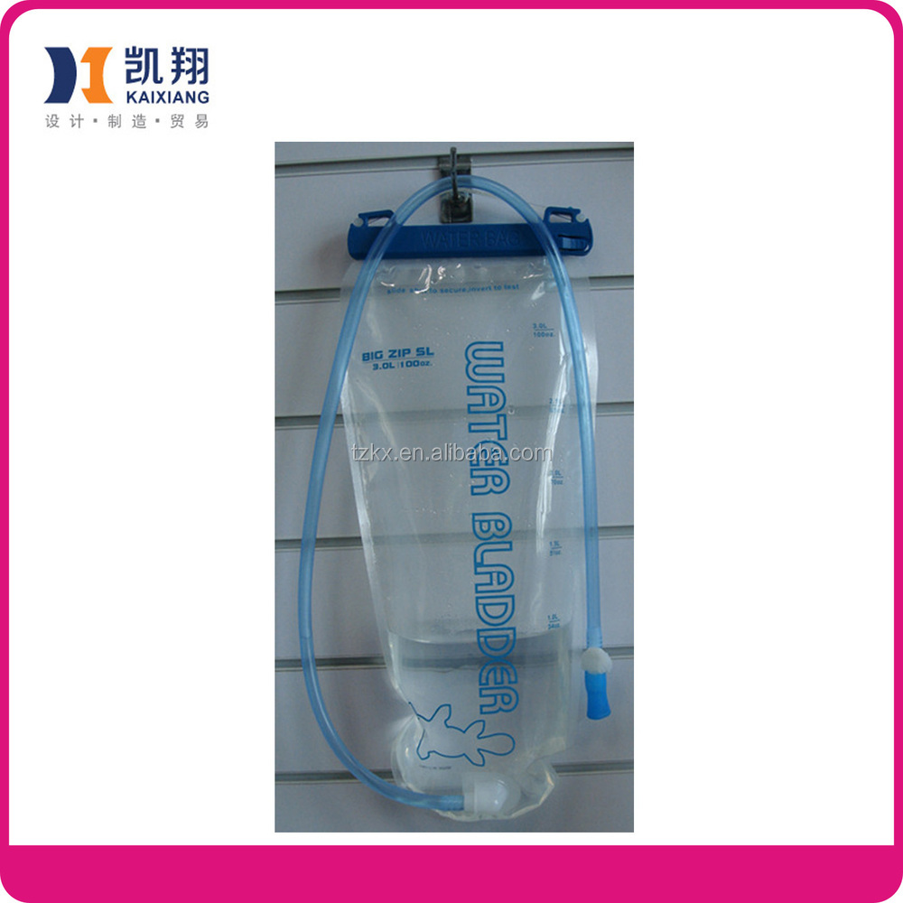 3L Hydration foldable water bladder with straw