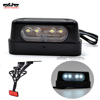 BJ-LPL-043 motorbike Emark 12V light Universal LED Motorcycle License Plate Light