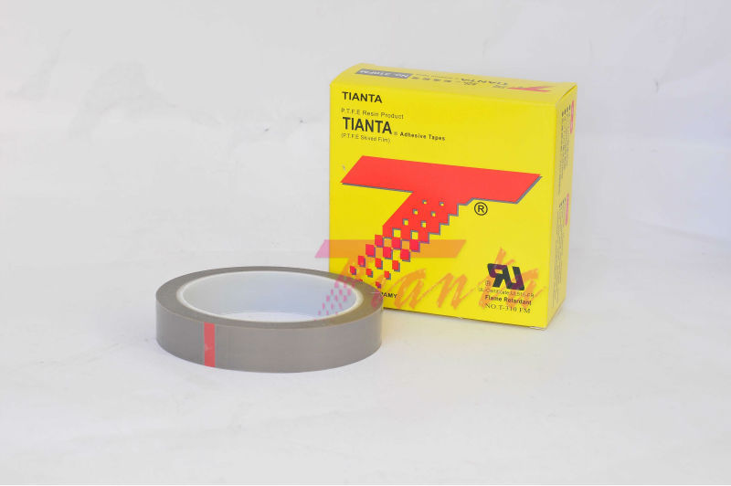 pure ptfe skived film silicone psa tape
